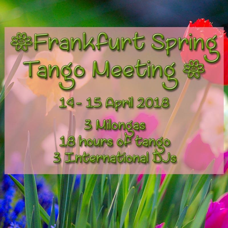 Frankfurt Tango weekend 2018